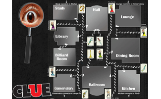 Clue - The classic detective game