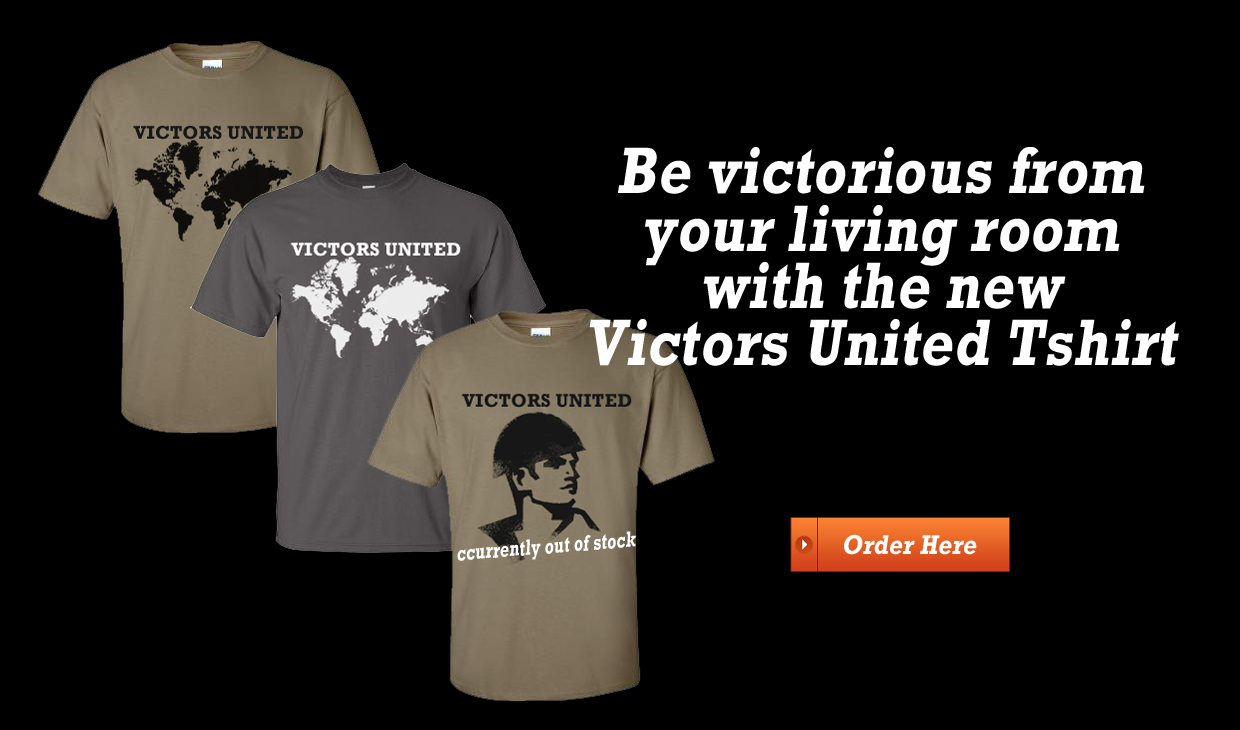 Get Your Own Victors United T Shirt!